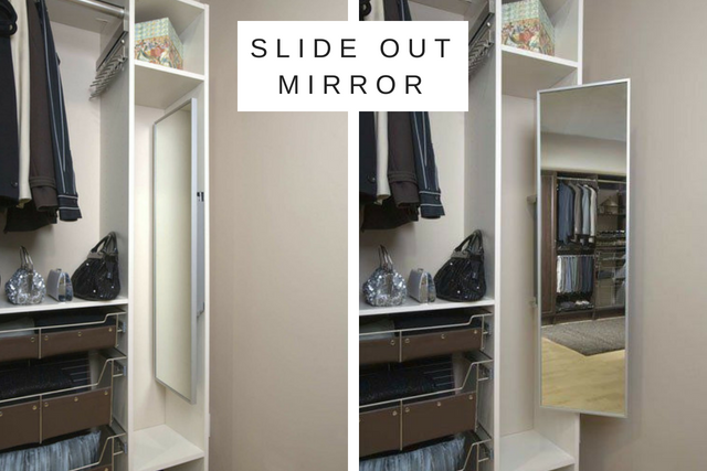 Carefree Design Center Slide Out Mirror