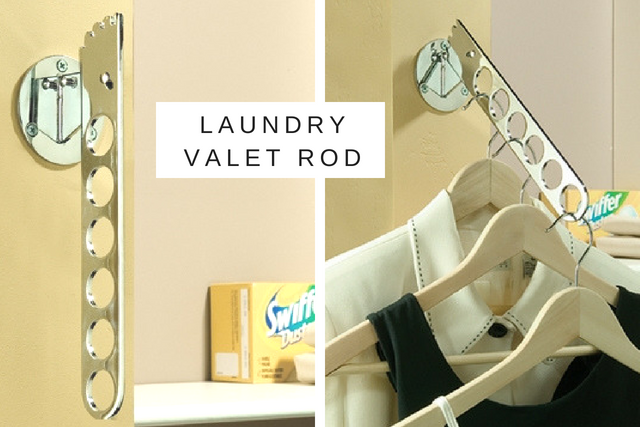 Laundry Valet Rod