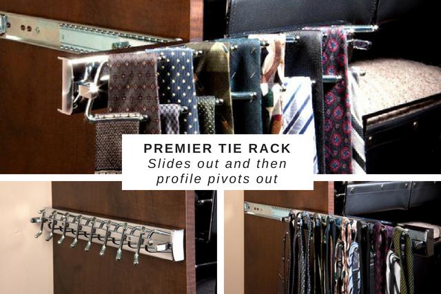 Premier Tie Rack