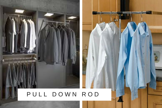 Pull Down Rod