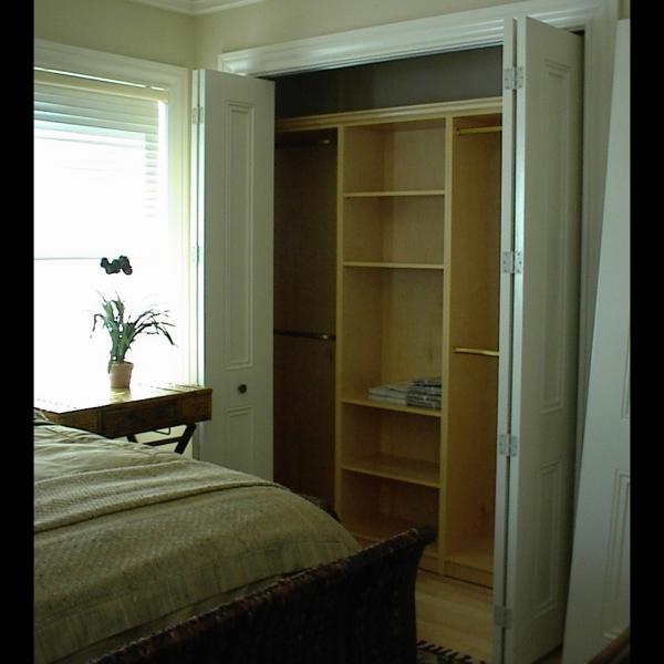 Carefree Design reach In closets