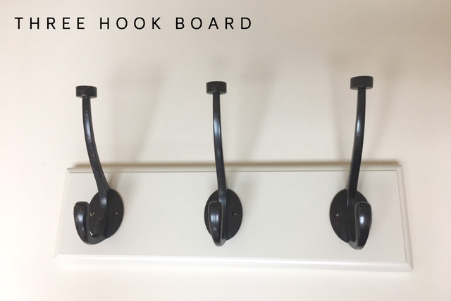 Three Hook Board