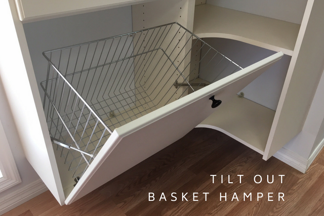 Tilt out Basket Hamper